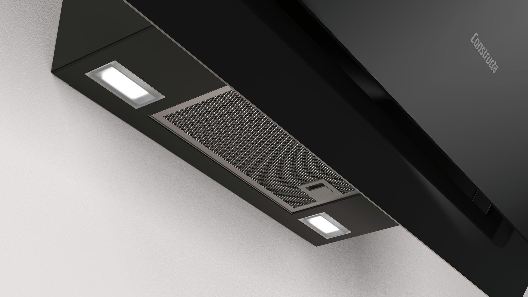 dunstabzugshaube constructa cd688860 schwarz glas 80cm modulk chen bloc modulk che online kaufen. Black Bedroom Furniture Sets. Home Design Ideas