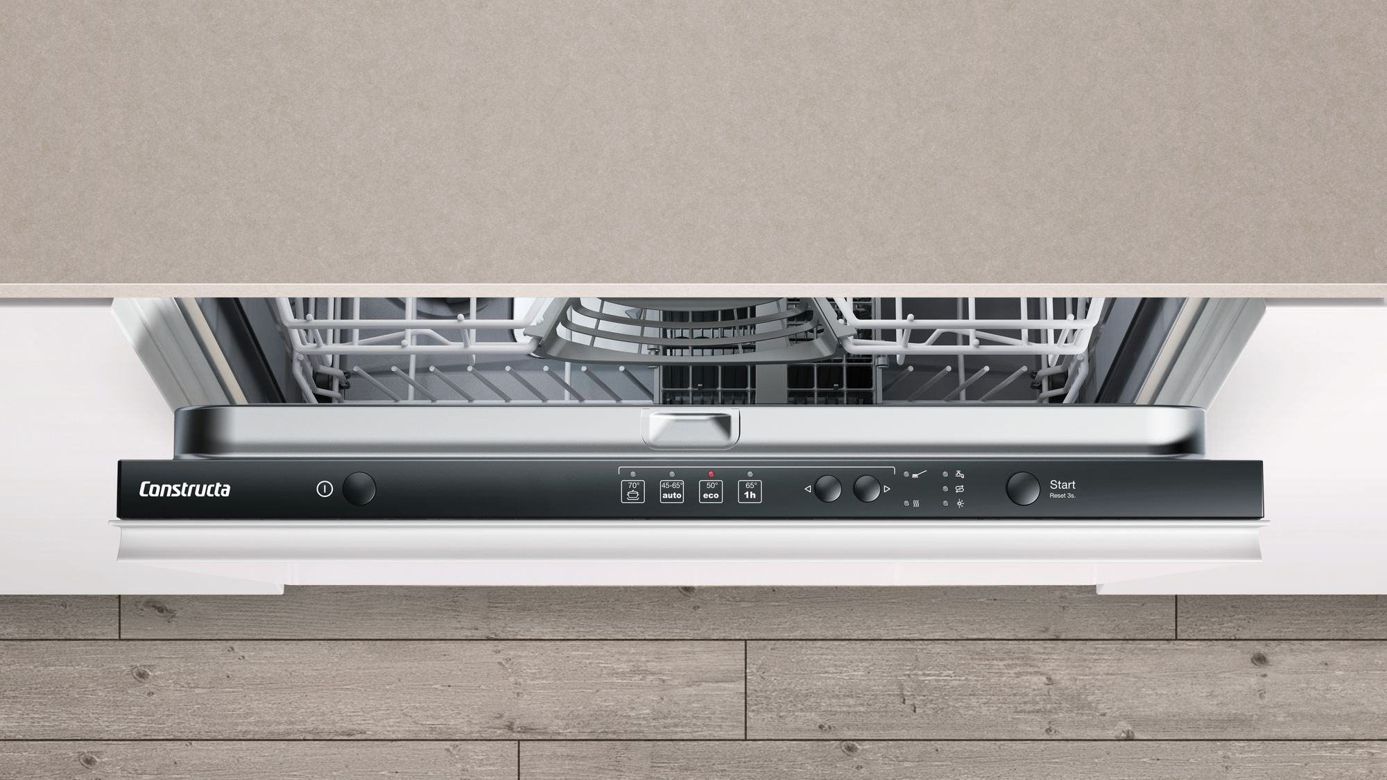 geschirrsp ler vollintegrierbar cg4a05v9 60cm modulk chen bloc modulk che online kaufen. Black Bedroom Furniture Sets. Home Design Ideas