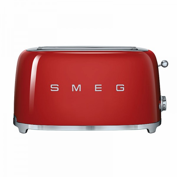 toaster smeg 4 scheiben tsf02rdeu rot modulk chen bloc modulk che online kaufen. Black Bedroom Furniture Sets. Home Design Ideas