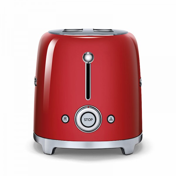 toaster smeg 4 scheiben tsf02rdeu rot schweiz. Black Bedroom Furniture Sets. Home Design Ideas