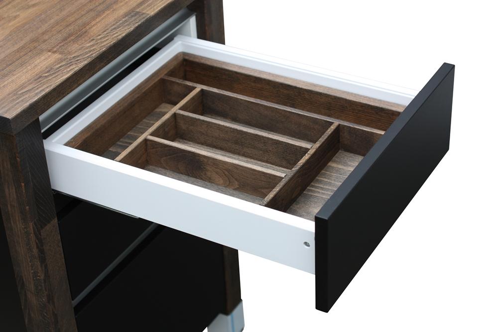 besteckeins tze modulk chen bloc modulk che online kaufen. Black Bedroom Furniture Sets. Home Design Ideas