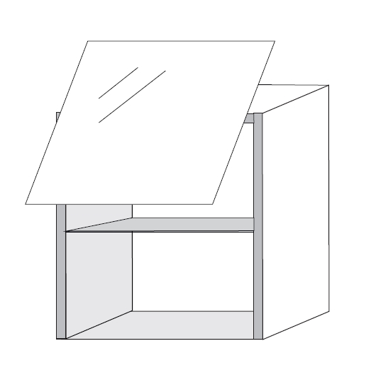 haengeschrank bloc 741akt modulk chen bloc modulk che. Black Bedroom Furniture Sets. Home Design Ideas