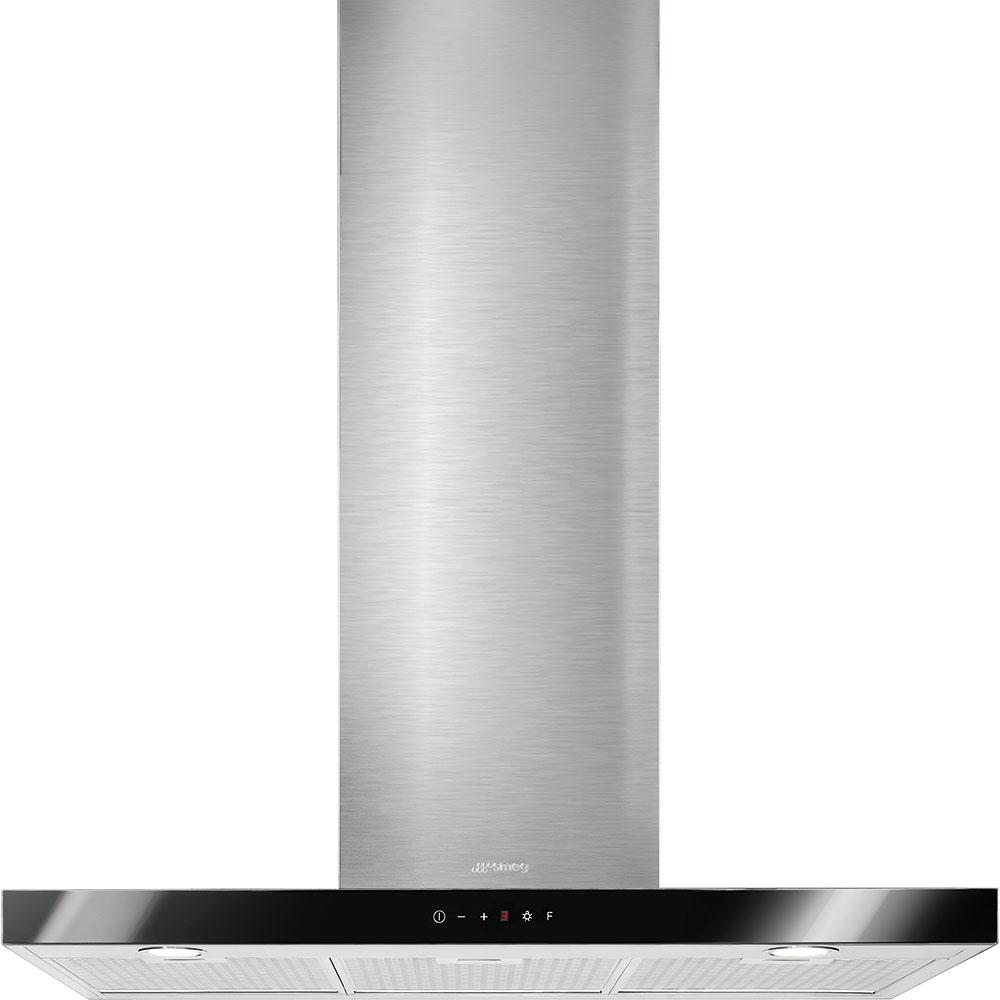 dunstabzugshaube smeg ks905bxe edelstahl weissglas 90cm. Black Bedroom Furniture Sets. Home Design Ideas