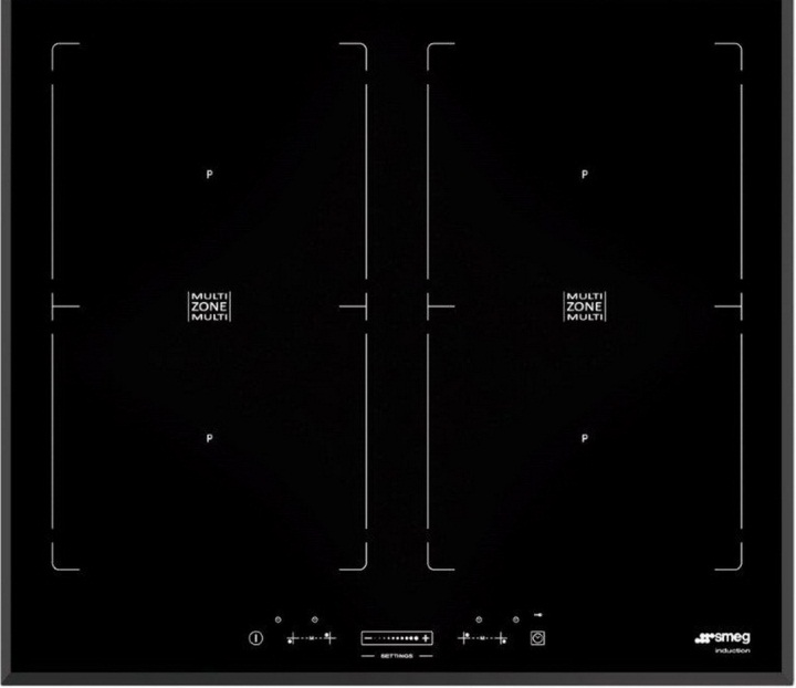 induktionskochfeld smeg sim562b 60cm multizone sterreich. Black Bedroom Furniture Sets. Home Design Ideas