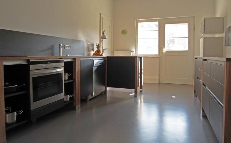 zuhause bei kunden modulk chen bloc modulk che online kaufen. Black Bedroom Furniture Sets. Home Design Ideas