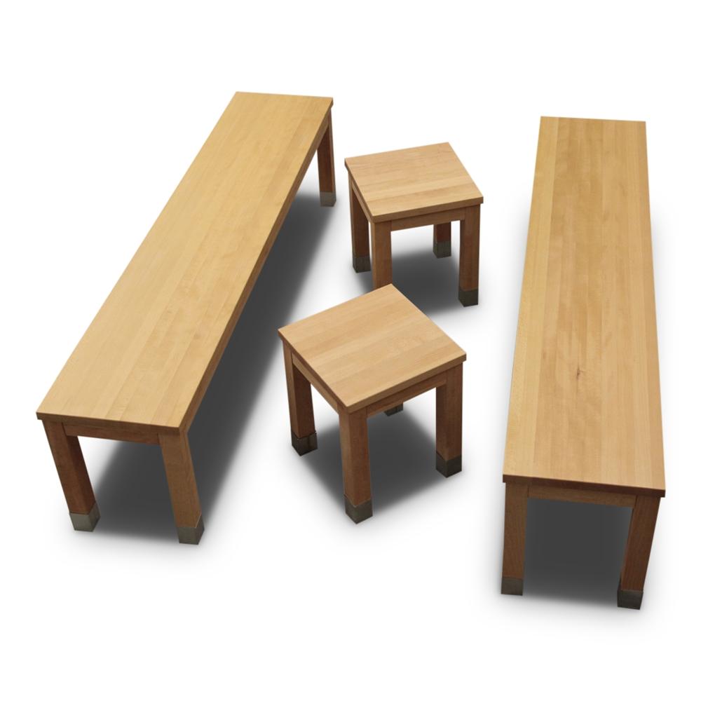 baenke und hocker modulk chen bloc modulk che online kaufen. Black Bedroom Furniture Sets. Home Design Ideas