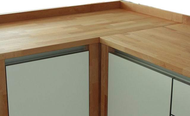 wandanschlussleiste variante a massivholz modulk chen. Black Bedroom Furniture Sets. Home Design Ideas